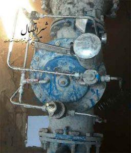 شیر کنترلی ضد ضربت قوچ hammer water valve iran